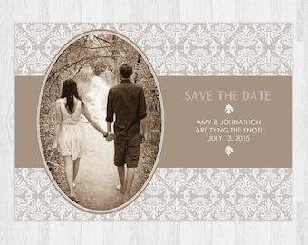 The Rachel   Elegant Victorian Save The Date