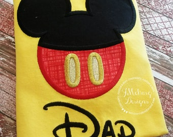 Boy Mouse Custom embroidered Disney Inspired Vacation Shirts for the Family! 877