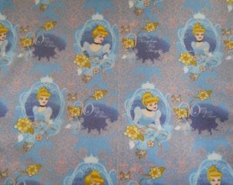 Blanket Made with Cinderella Fleece (Medium/Child) -  Ready to Ship