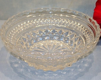Wexford by Anchor Hocking Crystal Bowl, 5.5 inches