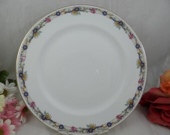 1900s Vintage Charles Ahrenfeldt Limoges France Dinner Plates  - 2 available