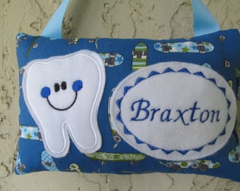 Tooth Fairy Pillow Personalized Skate Boards