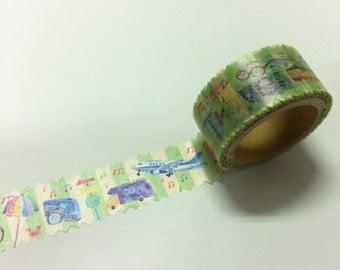 round top  Meganai /  Masking Tape /Travel RT-MKM-011 / 20mm x 5M