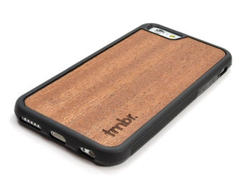 iPhone 6 Wood Case, Real Wood iPhone 6 Case, Handcrafted - SHK-R-I6P