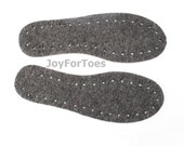 Soles for Crocheted Shoes for Slippers made from Sheet Felt