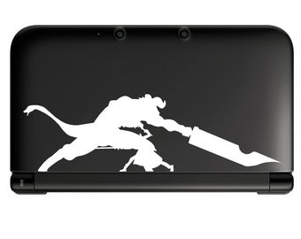 Sword Art online Kirito vs Gleam Eyes- Anime Decal for Nintendo 3ds, Macbooks, Laptop, iPhone, XBox, Playstation, Cars, Windows, Wall
