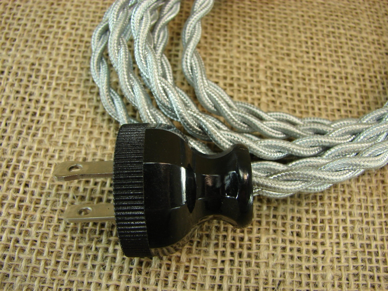 vintage style extension cord cloth extension cord 12