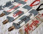 Personalized Pacifier Clip, NUK Holder, Universal Clip, Great New Baby Gift, Design Your Own