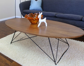mid century modern coffee table | etsy