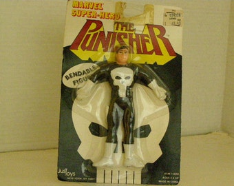 Marvel Bendable The Punisher 6 Inch Figure NIP