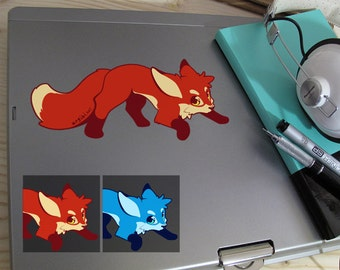 Cute Fox Full Color Decal