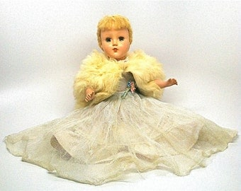 Vintage Composition Doll Arranbee R&B Debuteen Clothes 14 inch 1938
