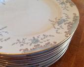 "Mikasa ""Seville"" Set of Four Salad Plates"