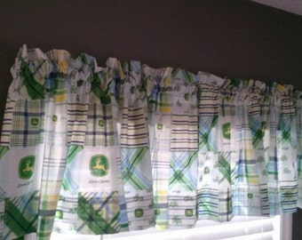 Items Similar To Kitsch Kitchen Curtains Lemons Strawberries Red Yellow Green White Gray