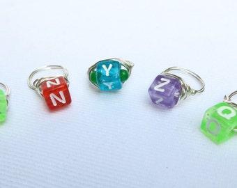Rings, Stone Rings for Kids