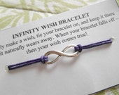 INFINITY Wish Bracelet - Choose Your Color