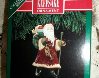 Hallmark Ornament Merry Olde Santa 1991