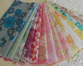 vintage fabric stash bundles