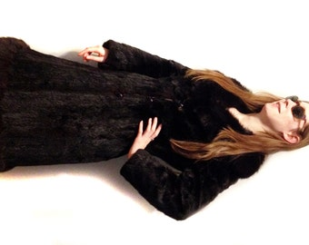 Vintage Fur Coat ~ FREE SHIPPING