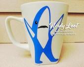 Left Shark Porcelain 12oz Mug