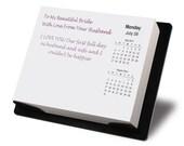 Personalized Desktop Calendar Gift