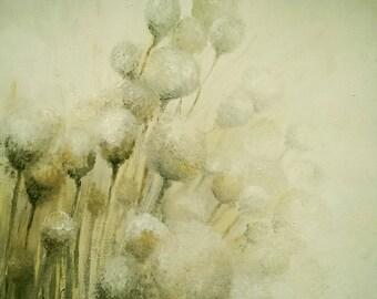 Original Acrylic Painting. Soft