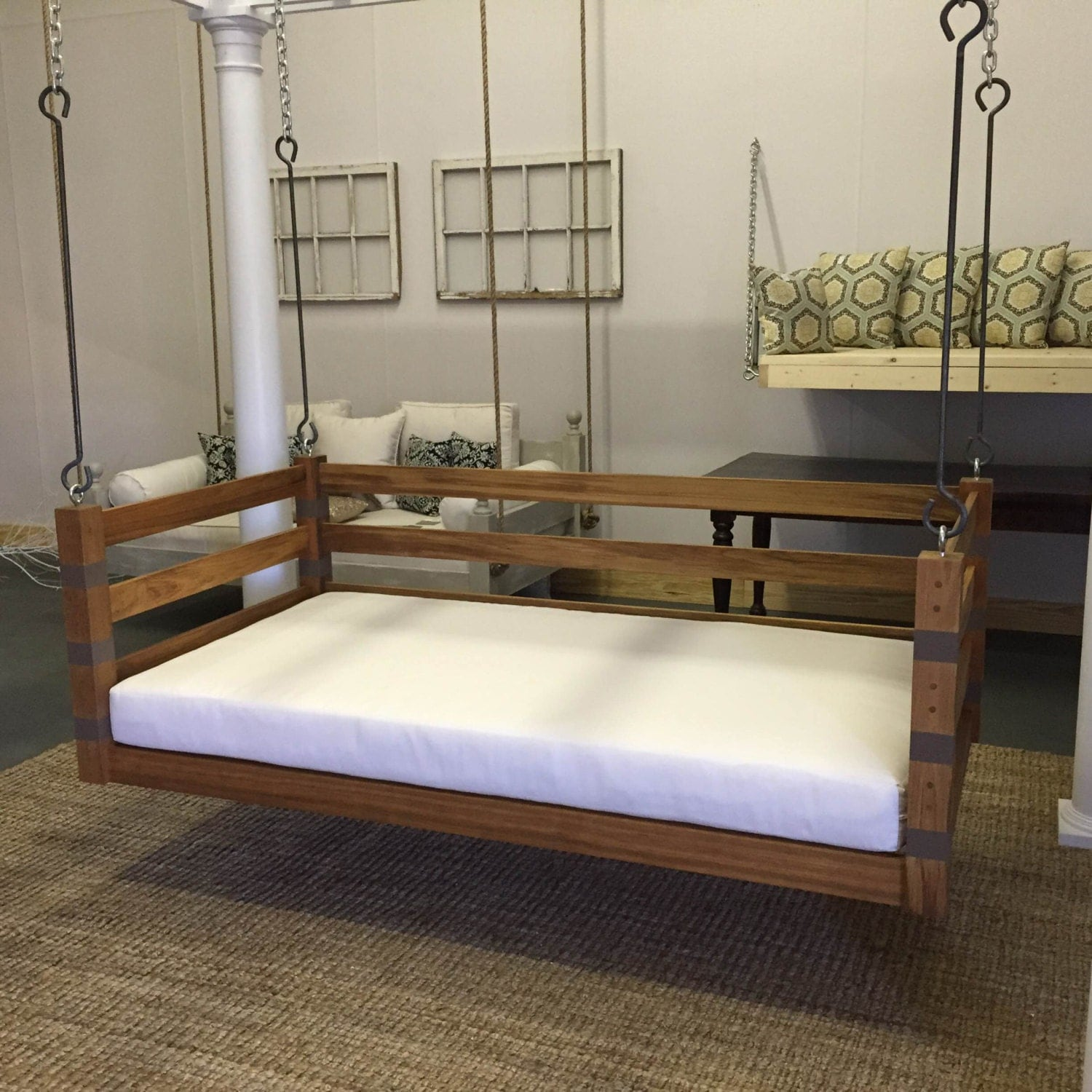 porch swing the ion swing bed free shipping. Black Bedroom Furniture Sets. Home Design Ideas