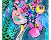 Eden - Original Watercolor Painting