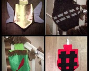 Custom Hanukkah Dreidle Bags