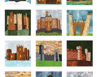 12 Castles - Paper Piecing