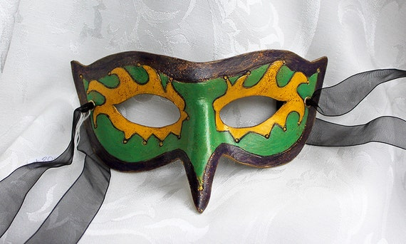 Phoenix Jester Leather Bird Masquerade Mask Renaissance Faire Masks