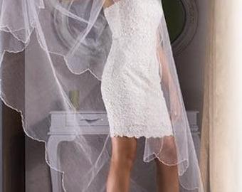 FREE SHIPPING Lace wedding ivory shoe  #8437