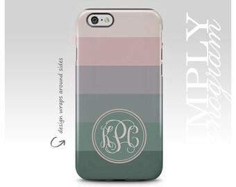 iPhone 6 Case , iPhone 7 Case , iPhone 6s Case , iPhone SE Case , Samsung Galaxy Case , Galaxy S7 Case , Chiq Striped Monogram Case