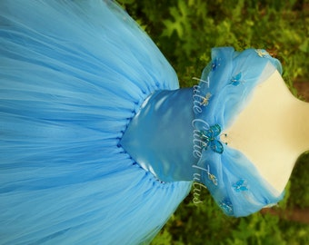 2015 New Cinderella Inspired Disney Princess Tutu Dress