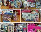 Disney's Frozen Party in a Trunk- Anna & Elsa