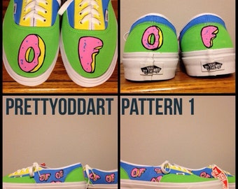Odd Future Hand Painted Shoes/Vans