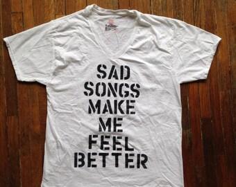 Sad Songs Make Me Feel Better