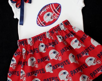 New England Patriots Toddler 3pc Set