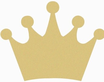 Crown, Craft, Wooden Unfinished, Shape, Paintable