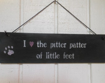 Pitter Patter of Little Feet