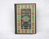 Oriental Rugs Reference Book - Antique Book - Decorative Book - Library Decor - How to Know Oriental Rugs - Langton - First Edition