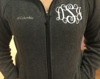 Monogram Columbia Fleece Jackets