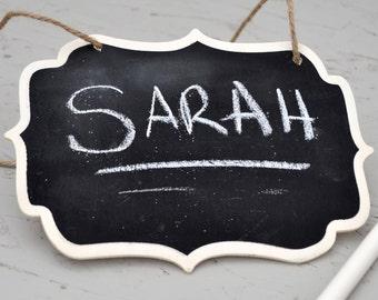 10 x Black Chalkboard Wedding Signs