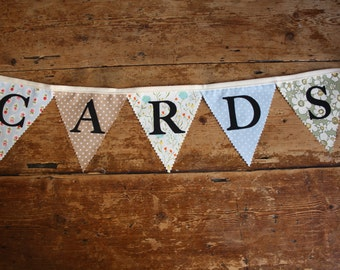 Wedding Bunting - Cards Banner
