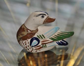 Vintage TONALA Duck Mexican Folk Art