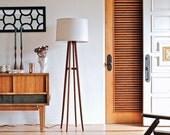 Autumn Floor Lamp (linen shade)