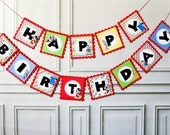 Mouse Clubhouse Happy Birthday Banner