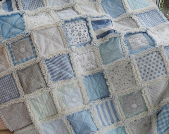 Memory quilt, keepsake quilt, personalised quilt, baby clothes blanket