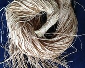 Natural Raffia Hank.. Perfect For Braiding Your Polynesian Dance Costume Or Creative Bow Making And Gift Wrapping For Festive Packages