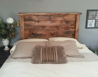 "Rustic Headboard ""Edward"""